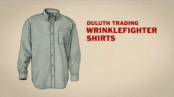 Duluth Trading Company Wrinklefighter Shirts TV Spot, 'Clothes Dryer' - Thumbnail 6