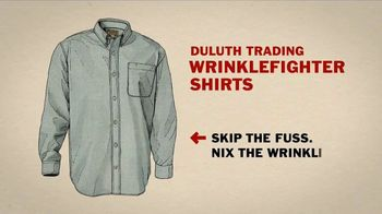 Duluth Trading Company Wrinklefighter Shirts TV Spot, 'Clothes Dryer' - Thumbnail 7