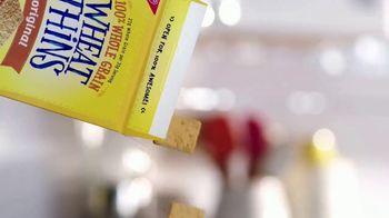 Wheat Thins TV Spot, 'Real Life Snacks' - Thumbnail 1