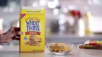 Wheat Thins TV Spot, 'Real Life Snacks' - Thumbnail 2