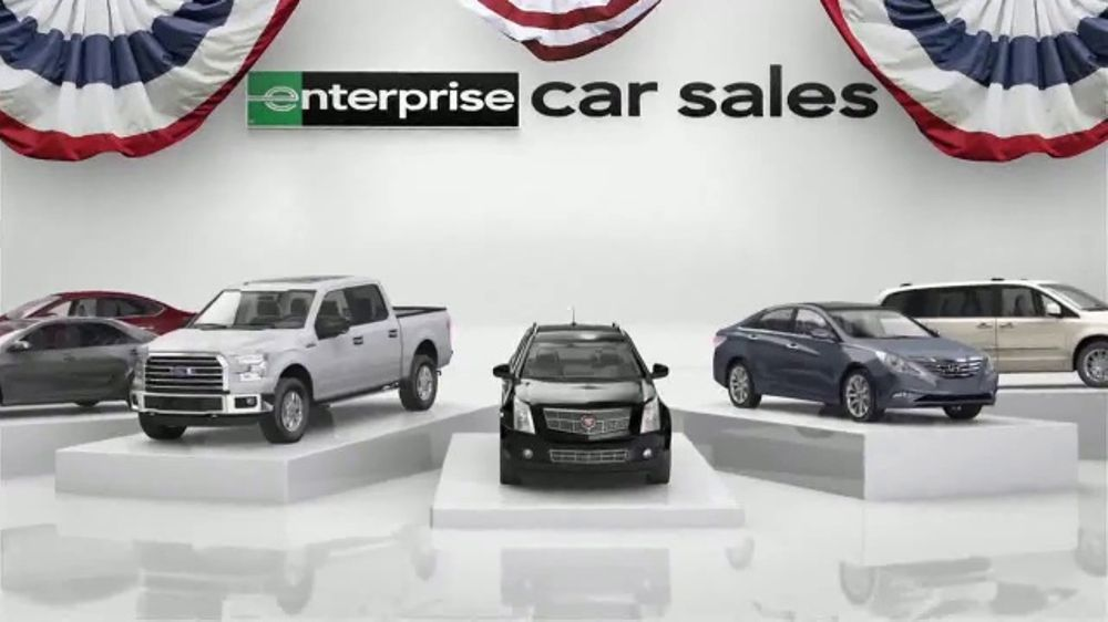 Enterprise Memorial Day Event TV Commercial, 'Get More for Your Trade'