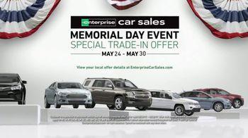 Enterprise Memorial Day Event TV Spot, 'Get More for Your Trade' - Thumbnail 4