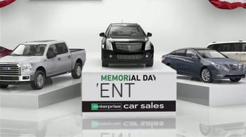 Enterprise Memorial Day Event TV Spot, 'Get More for Your Trade'