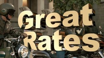GEICO Motorcycle TV Spot, 'Brownstone' Song by Strange Weather - Thumbnail 6