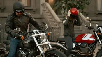 GEICO Motorcycle TV Spot, 'Brownstone' Song by Strange Weather - Thumbnail 7