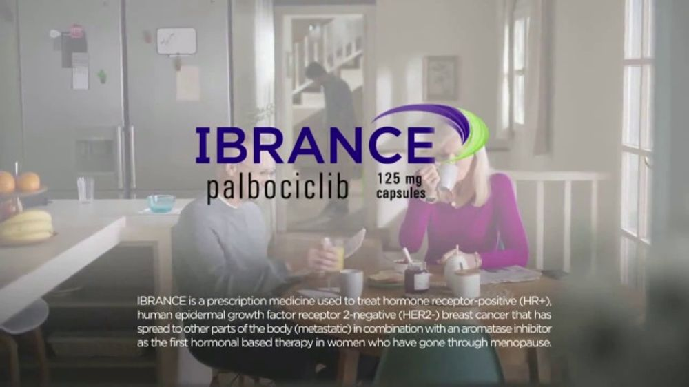 IBRANCE TV Commercial 8f1ea1162