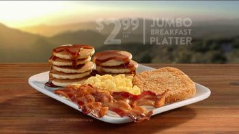 Jack in the Box Jumbo Breakfast Platter TV Spot, 'Handball' - Thumbnail 10