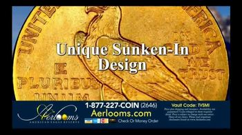 Aerlooms Indian Head Gold Coins TV Spot, 'Original and Authentic' - Thumbnail 4