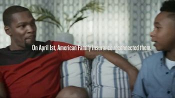American Family Insurance TV Spot, 'Keep Believing' Featuring Kevin Durant - Thumbnail 5