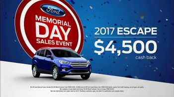Ford Memorial Day Sales Event TV Spot, 'Don't Be a Regretter' [T2] - Thumbnail 9