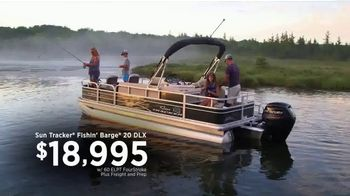 Bass Pro Shops Go Outdoors Event and Sale TV Spot, 'Sun Tracker Boats'