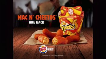 Burger King Mac N' Cheetos TV Spot, 'Return of the Mac N' Cheetos' - Thumbnail 9