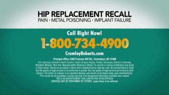 Crumley Roberts TV Spot, 'Hip Replacement Recall' - Thumbnail 4