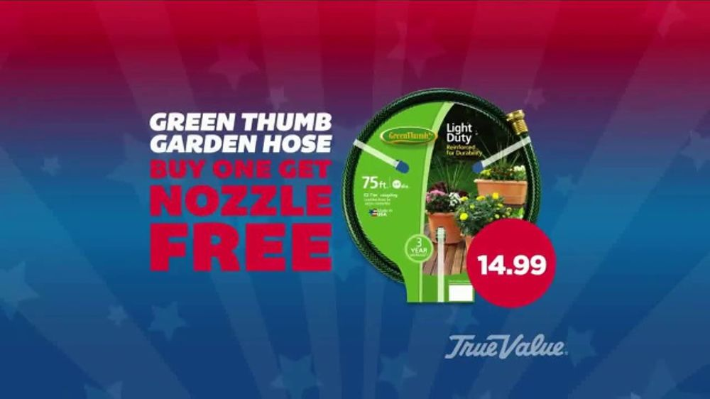 True Value Hardware Memorial Day BOGO Sale TV Commercial, 'Paint and Hoses'