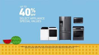 Lowe's Memorial Day Savings Event TV Spot, 'Appliances for Summer' - Thumbnail 4