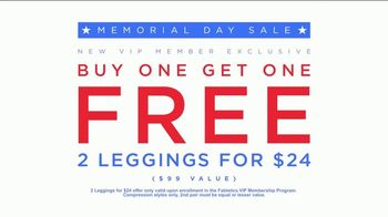 Fabletics.com Memorial Day Sale TV Spot, 'Leggings' Featuring Kate Hudson - Thumbnail 8