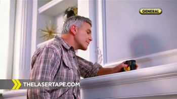 General Tools Laser Tape Measure TV Spot, 'Cool Tool' - 55 commercial airings