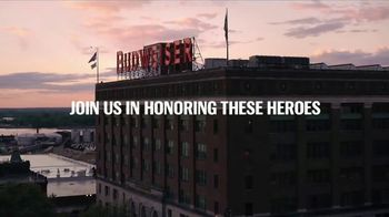 Budweiser TV Spot, 'Folds of Honor: Brewed by Vets for Vets' - Thumbnail 9