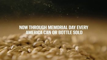 Budweiser TV Spot, 'Folds of Honor: Brewed by Vets for Vets' - Thumbnail 6