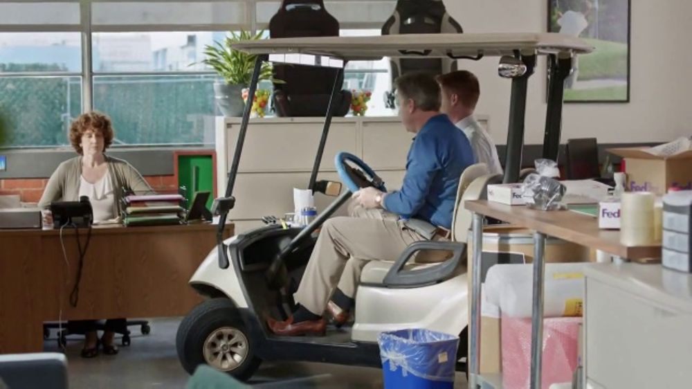 FedEx TV Commercial, 'Golf Cart' - iSpot.tv on japanese golf cart, surfing golf cart, ranch golf cart, solar golf cart, school golf cart, raiser golf cart, training golf cart, battery powered golf cart, russian golf cart, wet golf cart, pregnant golf cart, shooting golf cart, pantyhose golf cart, rv golf cart, public golf cart, single person electric golf cart, horse golf cart, polish golf cart, fishing golf cart, fun golf cart,