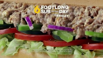 Subway $6 Footlong Sub of the Day TV Spot, 'Big on Taste, Small on Price' - Thumbnail 7