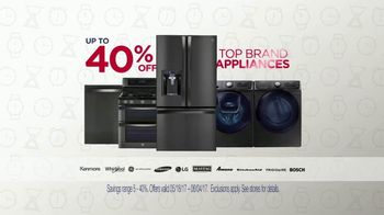 Sears Memorial Day Event TV Spot, 'Home Appliances & Mattresses'