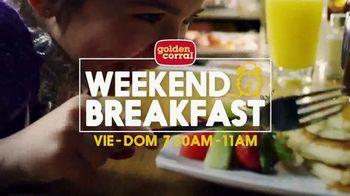 Golden Corral Weekend Breakfast TV Spot, 'Solo tocino' [Spanish] - Thumbnail 1