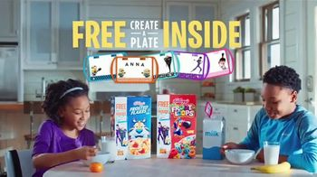 Kellogg's TV Spot, 'Despicable Me 3 Create-a-Plate'