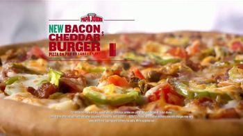Papa John's Bacon Cheddar Burger Pizza TV Spot, 'Dunk' Feat. Paul George - Thumbnail 8