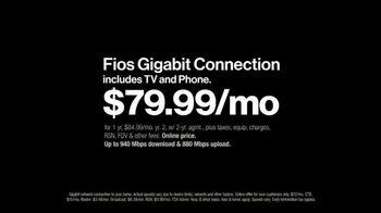 Fios Gigabit Connection TV Spot, 'More Powerful' - Thumbnail 5