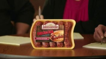 Johnsonville Firecracker Brats TV Spot, 'Light One by Jeff' - Thumbnail 1
