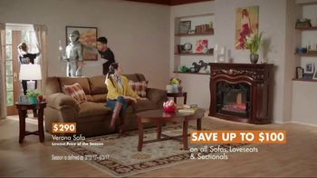 Big Lots TV Spot, 'Lavish Country Estate: Verona Sofa' - Thumbnail 8