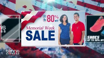 Tennis Express Memorial Day Sale TV Spot, 'Savings Start Now'