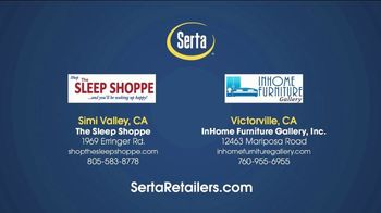 Serta Memorial Day Sale TV Spot, 'Save Up to $800' - Thumbnail 7