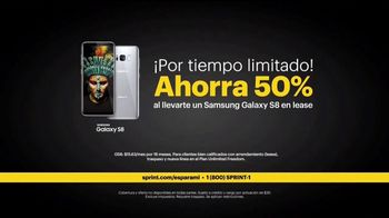 Sprint Unlimited TV Spot, 'Argenis: Samsung Galaxy S8' [Spanish] - Thumbnail 5