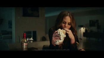 Smirnoff Triple Distilled Vodka TV Spot, 'Chrissy Teigen Craves Burrito'