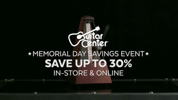 Guitar Center Memorial Day Savings Event TV Spot, 'Piano and Microphone' - Thumbnail 1