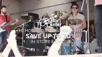 Guitar Center Memorial Day Savings Event TV Spot, 'Piano and Microphone' - Thumbnail 2