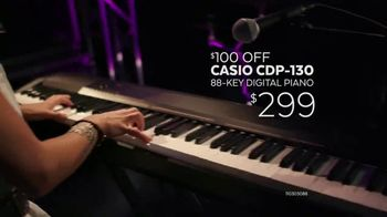Guitar Center Memorial Day Savings Event TV Spot, 'Piano and Microphone' - Thumbnail 4