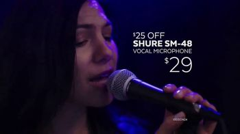Guitar Center Memorial Day Savings Event TV Spot, 'Piano and Microphone' - Thumbnail 5