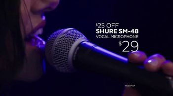 Guitar Center Memorial Day Savings Event TV Spot, 'Piano and Microphone' - Thumbnail 6