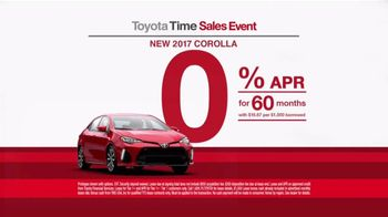 Toyota Time Sales Event TV Commercial, '2017 Corolla ...
