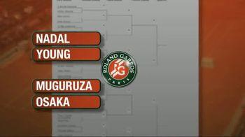 Tennis Channel TV Spot, 'Racquet Bracket: Roland Garros'