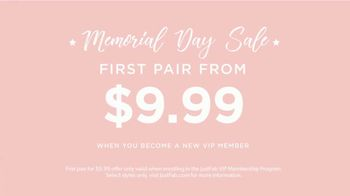 JustFab.com Memorial Day Sale TV Spot, 'More Shoes' - Thumbnail 4