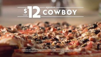 Papa Murphy's Cowboy Pizza TV Spot, 'Fresh: Scratch-Made Dough' - Thumbnail 8