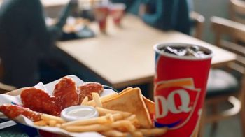 DQ Honey Hot Glazed Chicken Strip Basket TV Spot, 'Sauced and Tossed' - Thumbnail 1