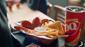 DQ Honey Hot Glazed Chicken Strip Basket TV Spot, 'Sauced and Tossed' - Thumbnail 2