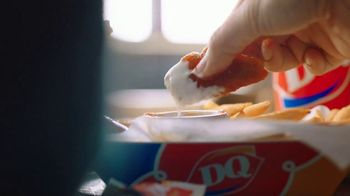DQ Honey Hot Glazed Chicken Strip Basket TV Spot, 'Sauced and Tossed' - Thumbnail 7