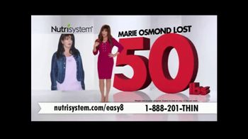 Nutrisystem Easy 8 TV Spot, 'Drop Unhealthy Pounds' Featuring Marie Osmond - Thumbnail 4