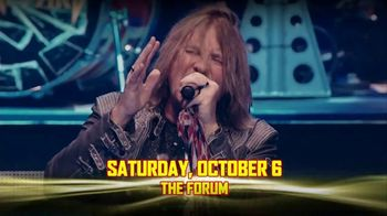 Journey and Def Leppard Tour TV Spot, '2018 The Forum'